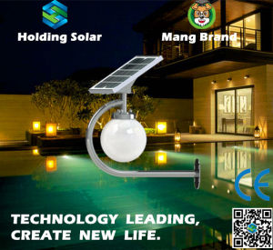 New Patented Design Solar LED Garden Light with Intelligent Control pictures & photos