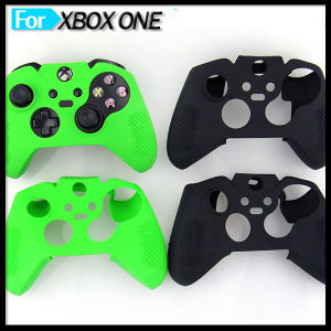 Soft Skidproof Silicone Cover for Microsoft xBox One xBox 1 Games Controller Case pictures & photos