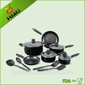 14PCS Aluminum Non-Stick Luxury Cookware Set