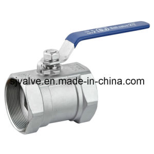 One Piece Ball Valve 1000wog Ss Ball Valve with Ce for Water Oil Gas pictures & photos