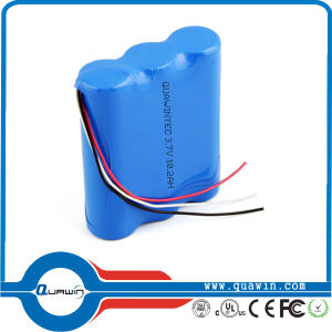 Li-ion Battery Pack 3.7V 10200mAh 18650 Rechargeable Battery pictures & photos