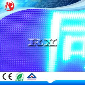 P10 Single Blue Tube Chip Color LED Display Module/LED Display Sign pictures & photos