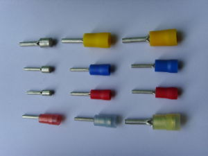 Ptv Type Pin Shape Pre-Insulating Terminal Needle Terminal pictures & photos