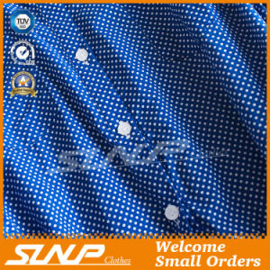 Long Sleeve Buttoned Front Polka DOT Apparel pictures & photos