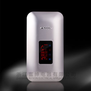 Digital Insatnt Electric Water Heater with CE Approval (Jrh 010) Silver