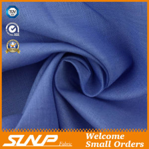 Linen Cotton Dyeing   Fabric for T-Shirt Pants Garment Textile