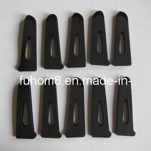 Injection Molding TPU/Plastic Hook and Loop Cuff Link pictures & photos