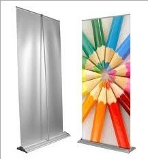 Tear Drop Roll up Banner Stand with Wide Base (URB-1) pictures & photos