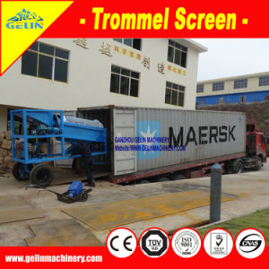 Alluvial Small Mobile Gold Mining Equipment, Mobile Gold Recovery Plant with Diesel Engine for Mineral Processing Plant pictures & photos