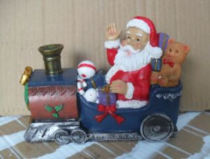 Resin Santa Sculpture Christmas Gift (JN131A) pictures & photos
