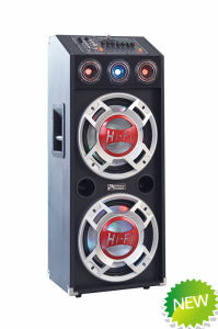 Stage Speaker Rechargeable Battery DJ Speaker Box E22 pictures & photos