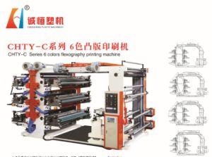 6 Colors High Speed Flexo Printing Machine (Manufacturer) pictures & photos