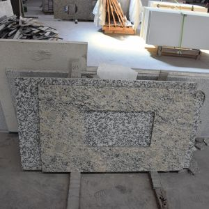 Hot Sell Polished Granite Countertop for Bathroom pictures & photos