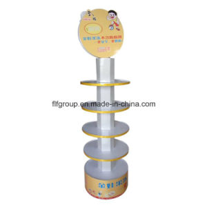 Cost-Effective Design Custom Various Types Floor Paper Product Display Stands pictures & photos