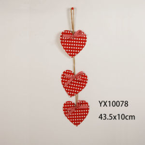 New En71 ASTM Standard Wooden Heart Wall Decoration pictures & photos
