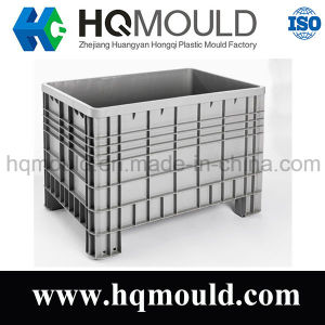 Plastic Stackable Large Dimension Solid Container Injection Moulding pictures & photos