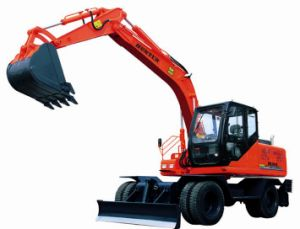 Wheeled Excavator (HTL120-9) pictures & photos