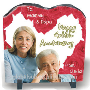 Pictures on Slate with Sublimation Photo Slate Gift pictures & photos