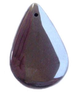 Hematite Water-Drop Pendant (No Magnetic)