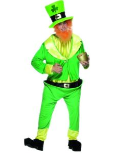 Polyester Irish Leprecaun Suits for Saint Patrick′s Day pictures & photos
