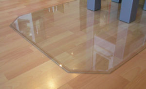 Tempered Glass Floor Plates for Stoves