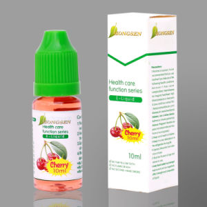 Health Care Function Series E-Liquid with Cherry Flavor in 10ml