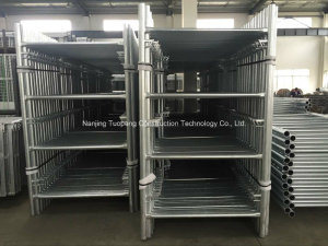 Shoring Frame Scaffolding with Galvanized for Export pictures & photos