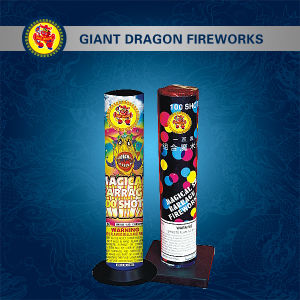 100 Shot Magical Barrage Roman Candle Combination Fireworks Gd5030 pictures & photos