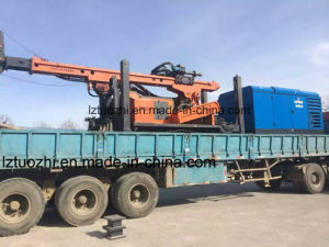 Diesel Driven Water Well Drill Rig Portable Air Compressor pictures & photos