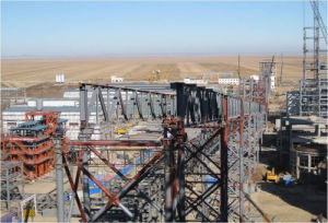Steel Structure Conveyor System (HV015)