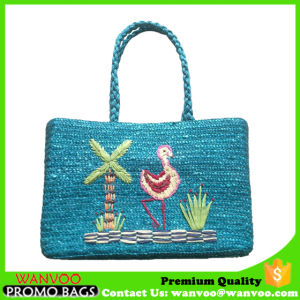 Hand Woven Straw Summer Beach Tote Bag pictures & photos