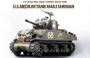Rb-0343898 1/16 Scale U. S. M4a3 Sherman Tank Remote Control Tank pictures & photos