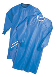 Disposable Non Woven Patient Hospital Gown pictures & photos