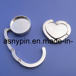 Metal Blank Silver Handbag Hanger pictures & photos
