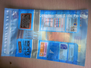 Matte Material Plastic Food Bag for Salmon Packaging pictures & photos