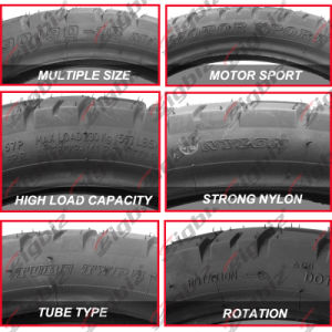 China Factory Direct Supply Cheap Full Size Motorcycle Tire pictures & photos