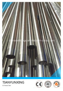 Seamless Ss316 Stainless Steel Pipe with Male Thread End pictures & photos