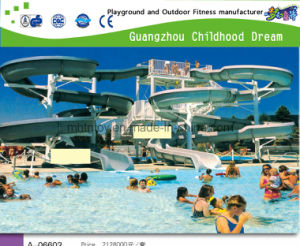 Factory Provides Large Water Park Slide (A-06602) pictures & photos
