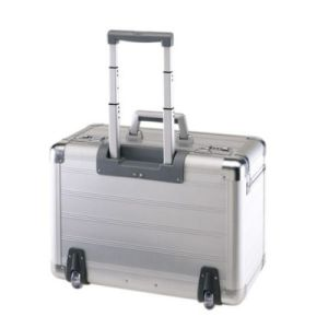 china aluminium pilot case with trolley china aluminum. Black Bedroom Furniture Sets. Home Design Ideas