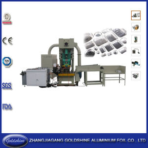 Aluminum Tray Making Machine (80t) pictures & photos