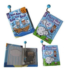 Hand Cranked Paper Music Box