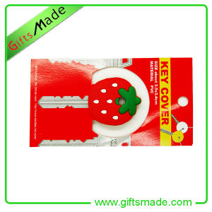 Cute Strawberry House Key Cover