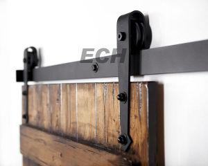 Double Sliding Barn Door Hardware Wood Door Sliding System pictures & photos
