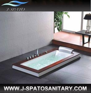 Acrylic Massage Bathtub, Built-in Bathtub, Drop-in Bathtub (JS-2001)