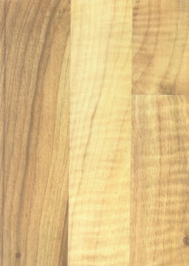 8.3mm HDF Laminate Flooring Apple Wood 6528 pictures & photos