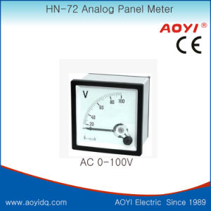 72 V Analog Panel AC Voltmeter pictures & photos
