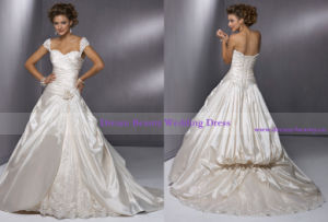 Wedding Dress & Wedding Gown (Hs10-Mic)