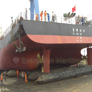 Ship Launching Landing Lifting Salvage Airbags pictures & photos