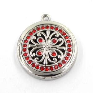 Zinc Alloy Jewelry Crystal Sets Essential Oil Perfume Pendant Lockets