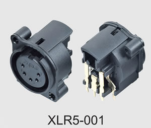 XLR Cable Connector (XLR5-001) pictures & photos